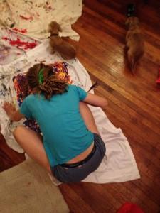 sophie-painting